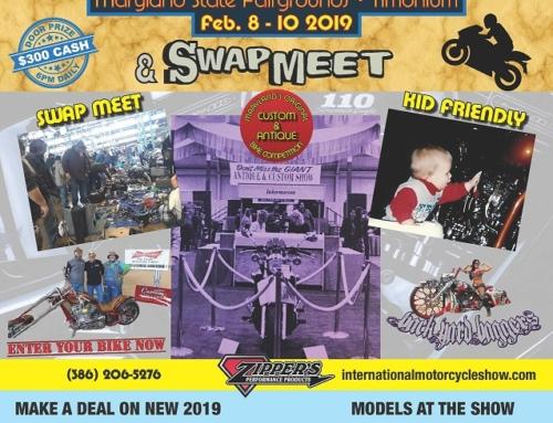 Biker Buzz Update: Timonium International Motorcycle Show 2019